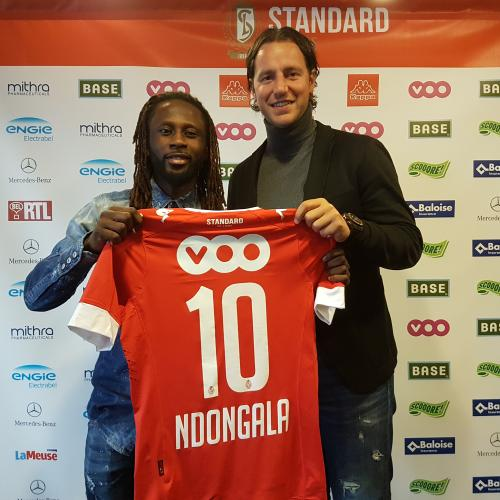 "Dieumerci NDONGALA joins the ""Rouches"""
