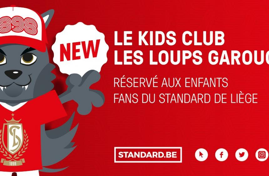 "NEW : le Kids Club ""Les Loups Garouches"""