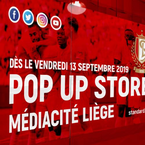 Pop-Up Store 3.0 in Médiacité Liège